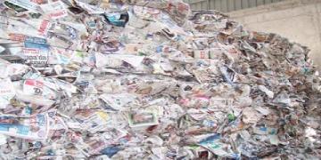 Manejo del desperdicio en la impresión de diarios